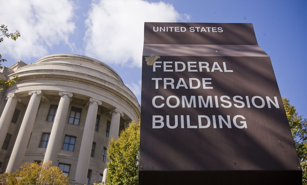 U.S. Federal Trade Commission building.  October 16, 2012.  Photo by Diego M. Radzinschi/THE NATIONAL LAW JOURNAL.